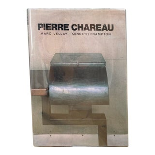 Art Book Vintage 1985 Architect Pierre Chareau Definitive Design Reference Book by Marc Vellay Kenneth Frampton For Sale