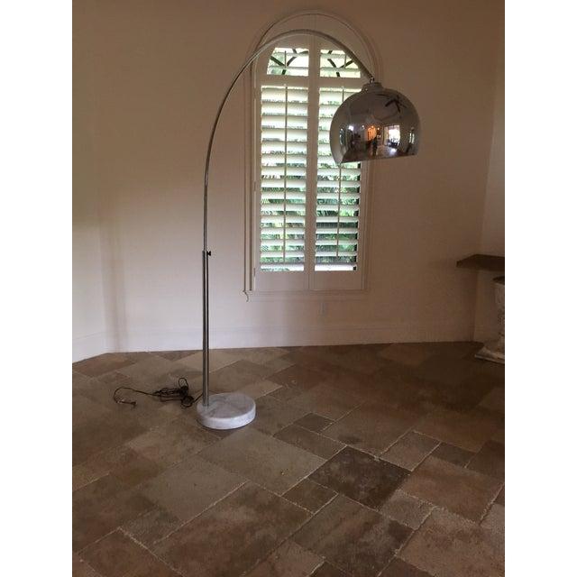 Arco Chrome Floor Lamp - Image 2 of 4