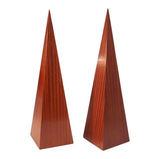 Pair of Obelisks For Sale