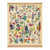 Image of French Flowers Wall Hanging For Sale