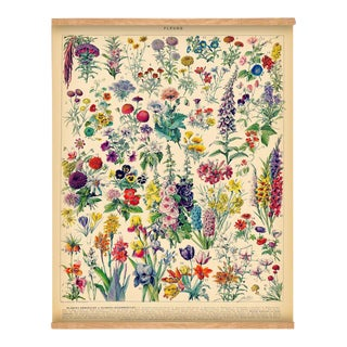 French Flowers Wall Hanging For Sale