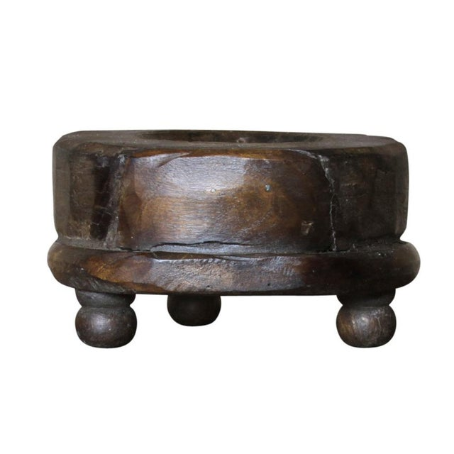 Asian Chakla Candleholder For Sale - Image 3 of 4
