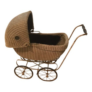 Vintage Hedstrom Union Baby Carriage For Sale