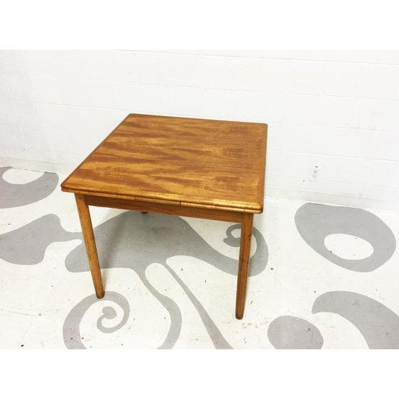 Mid-Century Modern Teak Dining Table - Image 4 of 6