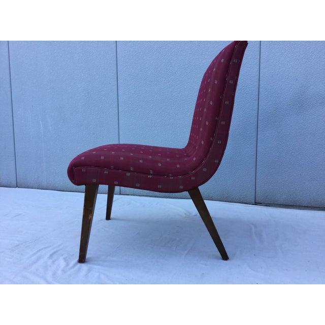 1960's Modern Slipper Chair - Image 9 of 9