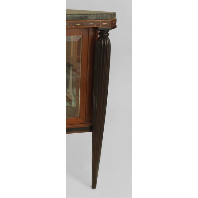 Art Deco French Art Deco Mahogany Sideboard Cabinet For Sale - Image 3 of 4