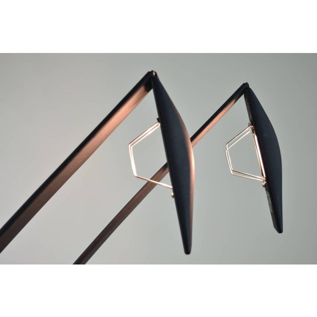 1980s Pair of Dove Lamps by Mario Barbaglia and Marco Colombo for PAF Studio For Sale - Image 5 of 6