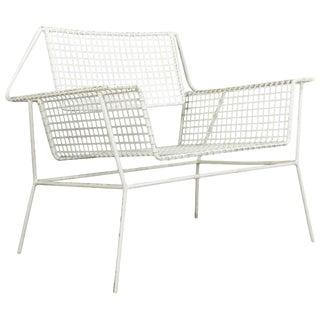 Mid-Century Modern Garden Armchair For Sale