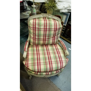 1970s Vintage Bergere Chair Preview