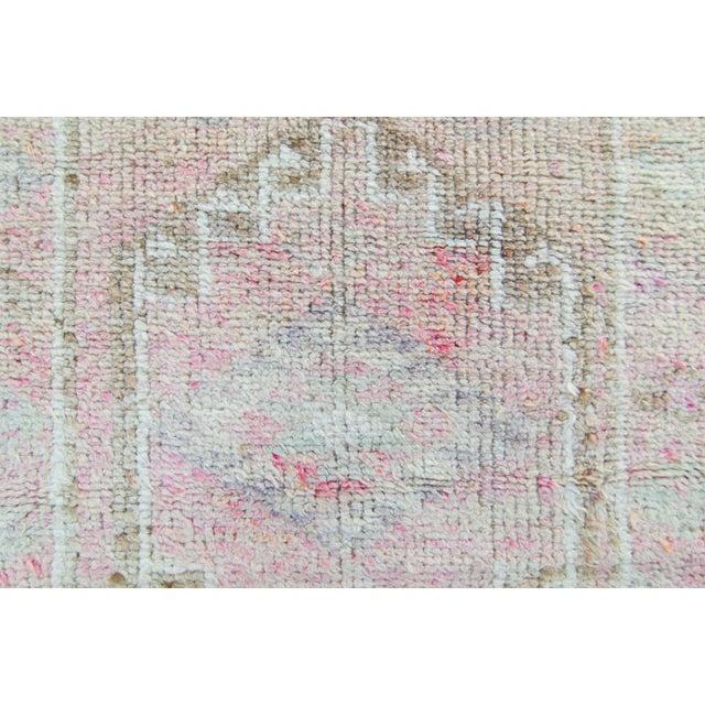 Textile 1950s Vintage Kurdish Runner Rug - 2′11″ × 12′1″ For Sale - Image 7 of 11