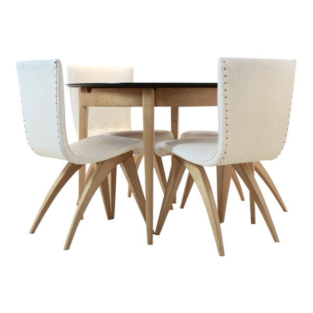 C.J. van OS Culemborg Dutch Birch Dining Set - Image 1 of 11