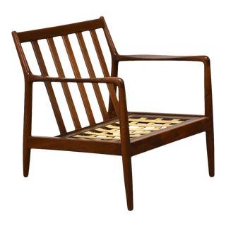 Danish Walnut Lounge Chair by Dux For Sale