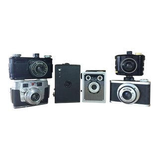Vintage Camera Collection - Set of 6