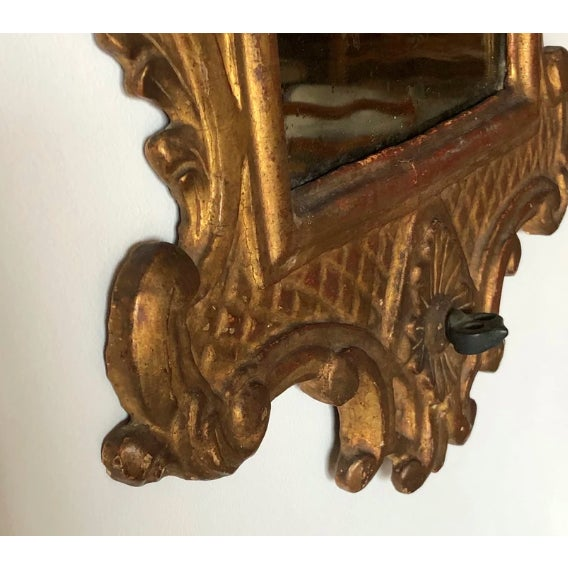 Venetian Baroque Gilt and Mirrored Sconce For Sale - Image 4 of 6