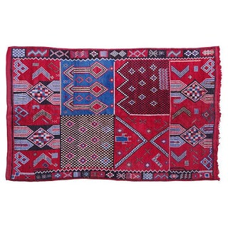 Moroccan Rug- 8'3'' X 5'2'' For Sale