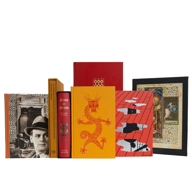 Fireside Chat Boxed Book Set, (S/15) For Sale - Image 4 of 4