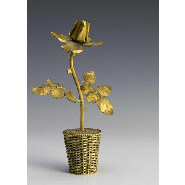 1960s Tiffany Gilt Sterling Sculpture by Janna De Velarde For Sale - Image 5 of 5