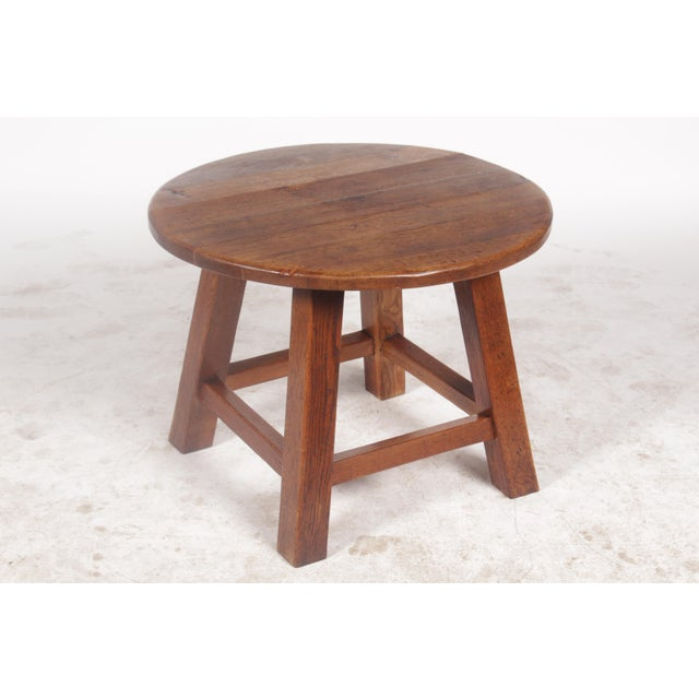 1950s Bavarian-Style Round Coffee Table - Image 3 of 9