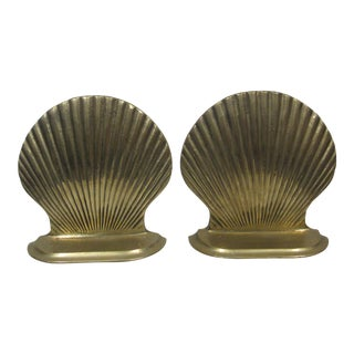 Price Products Brass Shell Bookends