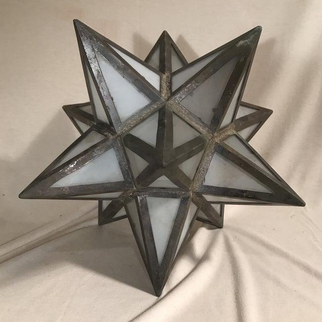 Geometric Metal Light Shade - Image 3 of 5
