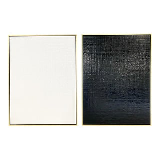 John O'Hara Ok, 1. Encaustic Paintings - a Pair For Sale