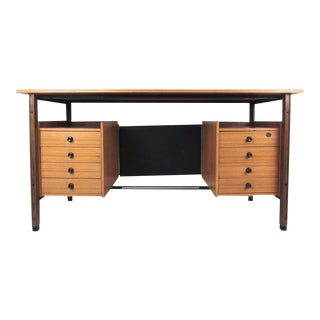 Elegant Italian Modern Floating Top Desk
