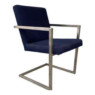 Mid-Century Modern Room and Board Finn Outdoor Dining Chair For Sale