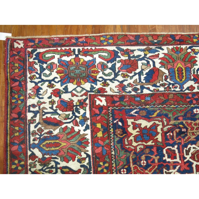 Antique Persian Bakhtiari Rug - 12'3'' X 18'2'' - Image 7 of 9