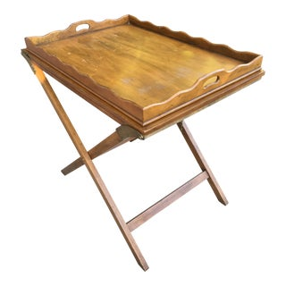 Vintage Baker Butler Serving Table