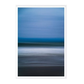 """Horizons No. 1"" Abstract Seascape Framed Photograph For Sale"