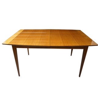 Mid Century Danish Modern Dining Table For Sale