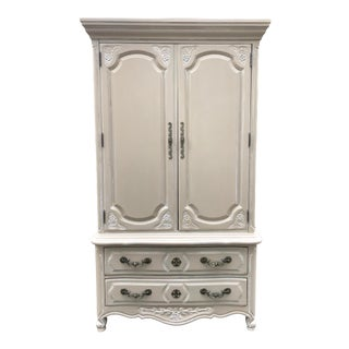 Vintage Thomasville Country French Armoire For Sale
