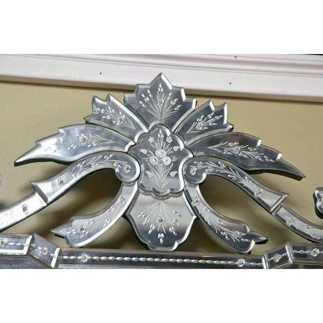 Venetian Decorative Mirror - Image 5 of 5