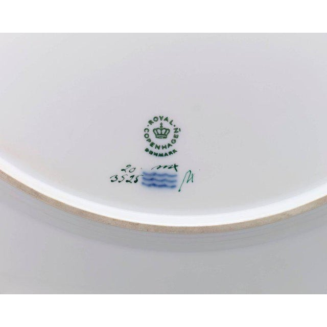 Early 20th Century 143 Piece Flora Danica Porcelain Dinner Service by Royal Copenhag For Sale - Image 5 of 6