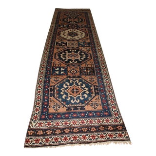 Ori̇ental Turki̇sh Runner - 2′9″ × 11′8″