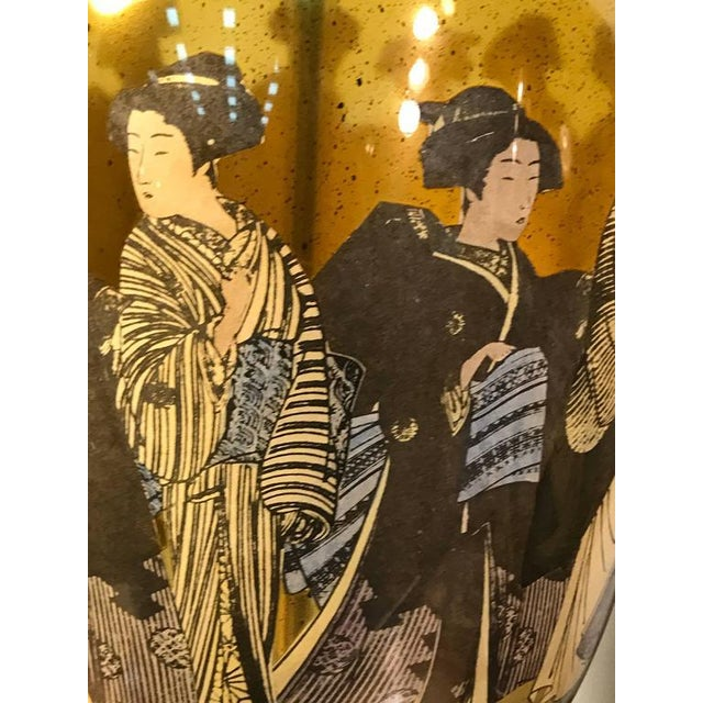 1970s Beautiful Pair of Asian Inspired Table Lamps For Sale - Image 5 of 7
