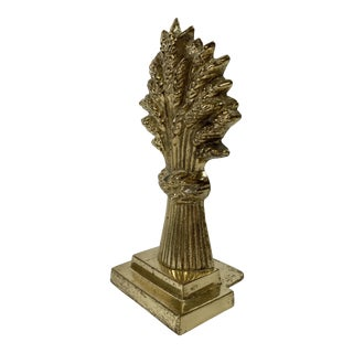 Sheaf of Wheat Bookend or Doorstop For Sale