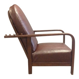 Reclining Chair by Josef Hoffmann For Sale