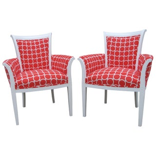 Chanel Pattern 1940's French Side Chairs