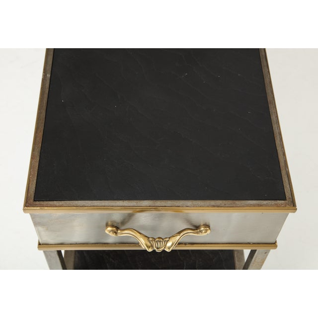Mid 20th Century Brass and Steel Console For Sale - Image 5 of 13