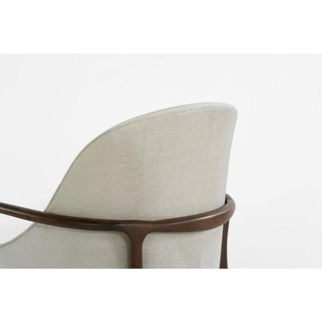 Mid-Century Modern Walnut Lounge Chairs - a Pair For Sale - Image 11 of 13