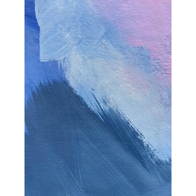 """""""Abstract Lavender Bloom"""" - Framed Print 32x48 For Sale In Washington DC - Image 6 of 8"""