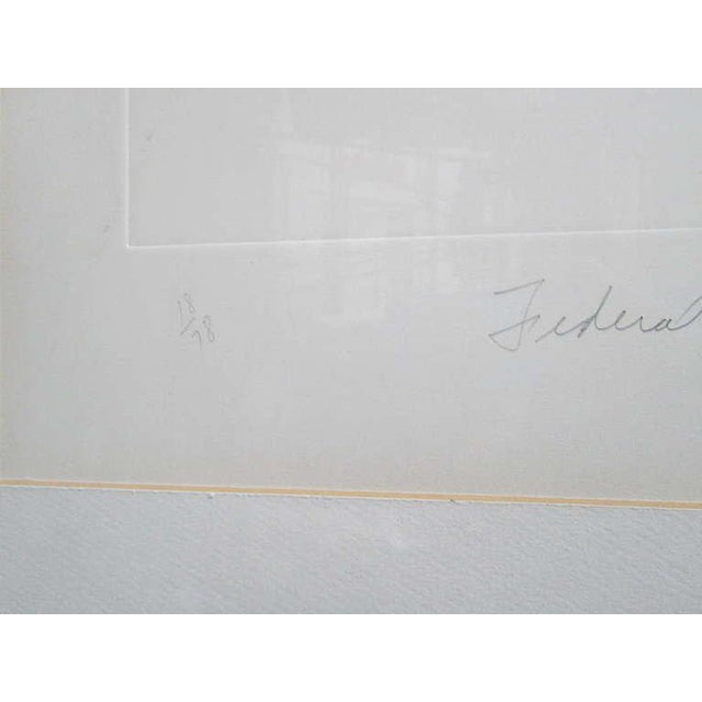"Black ""Federal Spending"" by James Rosenquist ed. 18/78 - Pencil Signed For Sale - Image 8 of 8"
