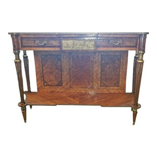 19c French Breakfast Console Buffet For Sale