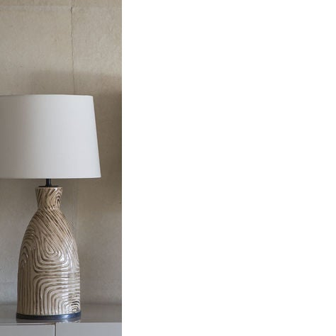 "Visual Comfort table lamp, new in box. Lightbulbs not included. KW-3021SBU-L Finish: sand shade: 12""X14""x10.5"" Brand new..."