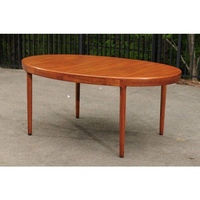 Magnificent Teak Extension Dining Table by Harry Ostergaard, Circa 1963 For Sale - Image 10 of 11