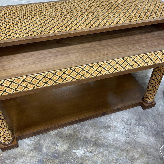 Italian Adolfo Genovese Console Table For Sale - Image 4 of 12