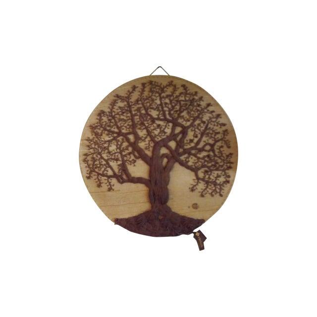 """Original """"Tree of Life"""" Fiber Art by Dan Freedman - Image 1 of 8"""