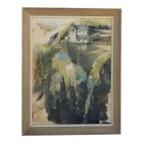 Image of 1970s Abstract Landscape Painting For Sale
