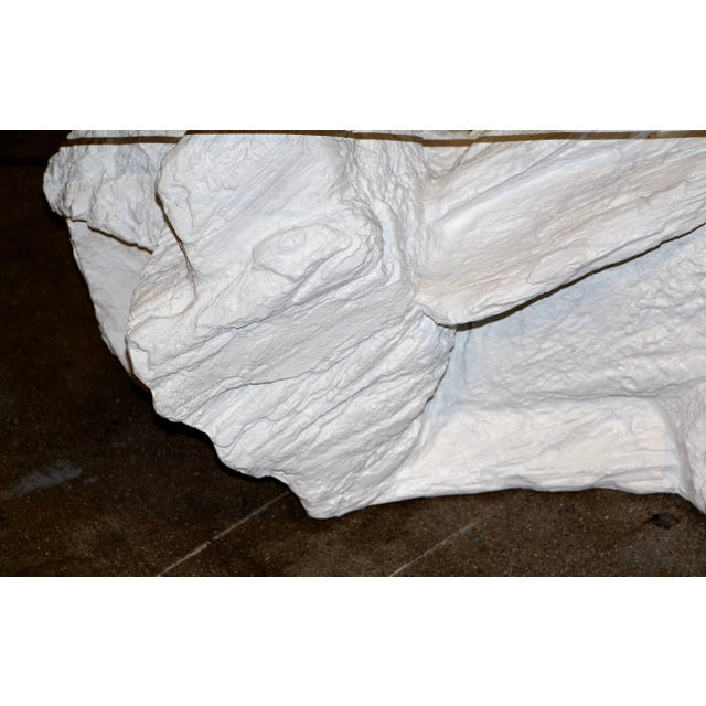 Contemporary Sirmos Plaster Rock Quarry Coffee Table For Sale - Image 3 of 7
